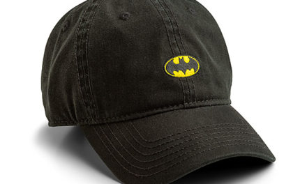 Batman Logo Strapback Hat