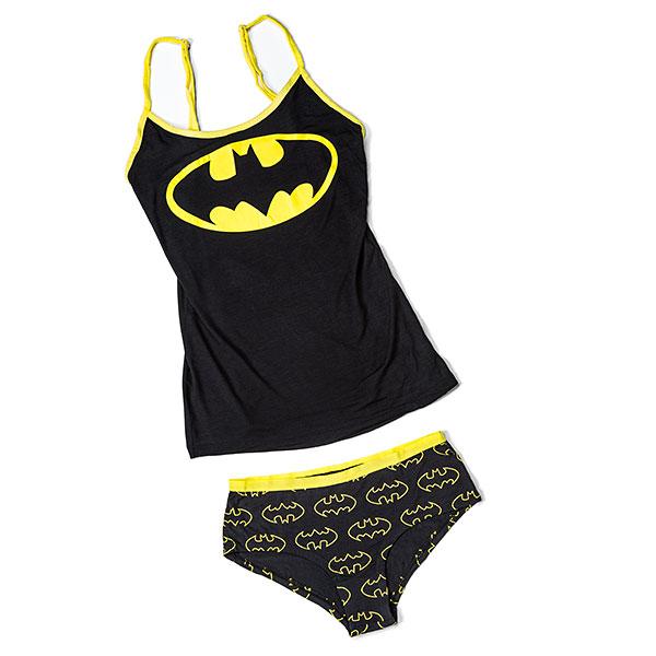 Batman Ladies' Tank and Panty Set