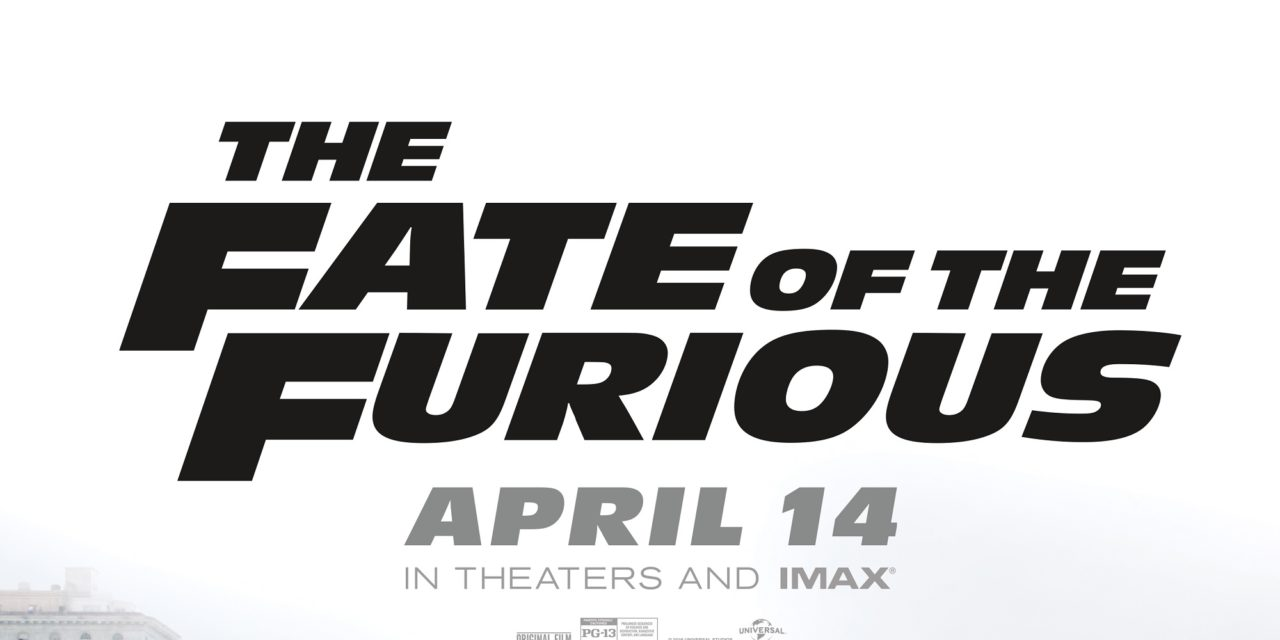FATE OF THE FURIOUS ROARS TO RECORD $532.5 MILLION GLOBAL DEBUT