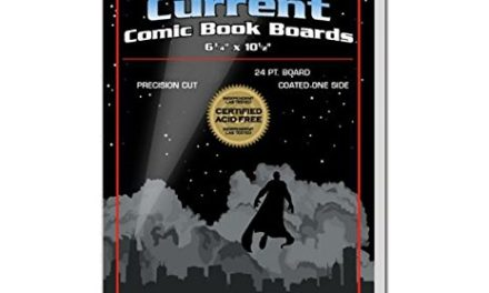 BCW Supplies – Current Size Comic Boards – White – BBCUR – (100 Boards)