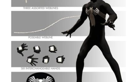 Spider-Man Black Suit One:12 Collective Action Figure – Previews Exclusive – Free Shipping