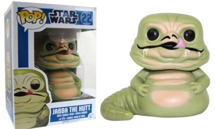 Star Wars Jabba the Hutt Pop! Vinyl Bobble Head