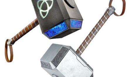 Marvel Legends Thor Mjolnir Hammer Electronic Prop Replica