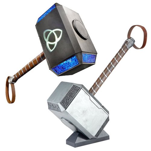 marvel legends thor mjolnir hammer electronic prop replica