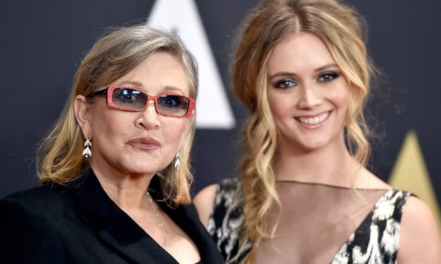 Billie Lourd pays tribute to mom Carrie Fisher on Star Wars Day