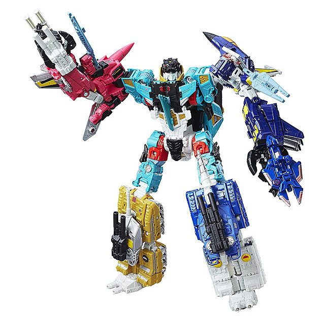 Transformers Generations Platinum Edition Combiner Wars Liokaiser