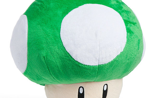 Super Mario 1UP Mushroom Plush