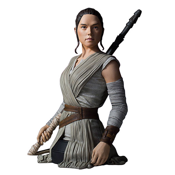 Star Wars Ep 7 Rey Mini Bust