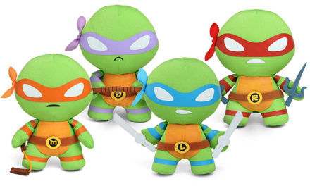 Teenage Mutant Ninja Turtles Chibi Plush