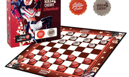 Fallout Nuka Cherry Checkers – Exclusive