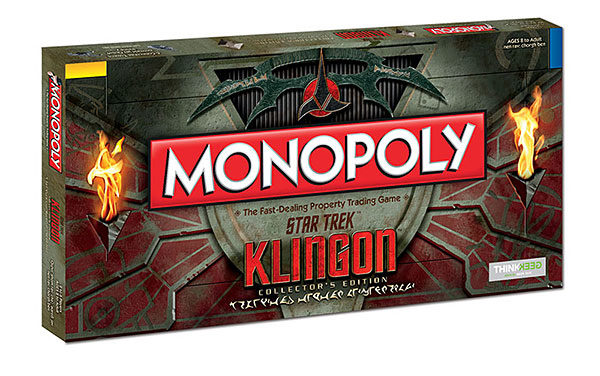 Star Trek Klingon Monopoly – Exclusive