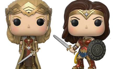 POP Wonder Woman Vinyl Figures