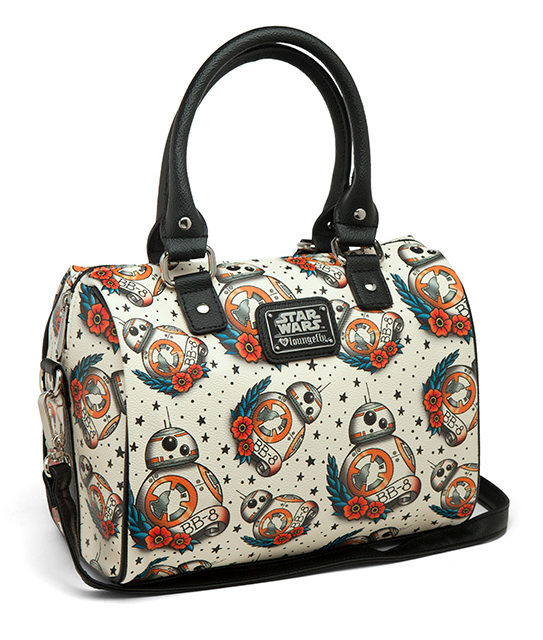 Star Wars BB-8 Tattoo Flash Duffel Purse