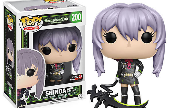 POP Seraph of the End Shinoa with Scythe Exclusive Vinyl Figure