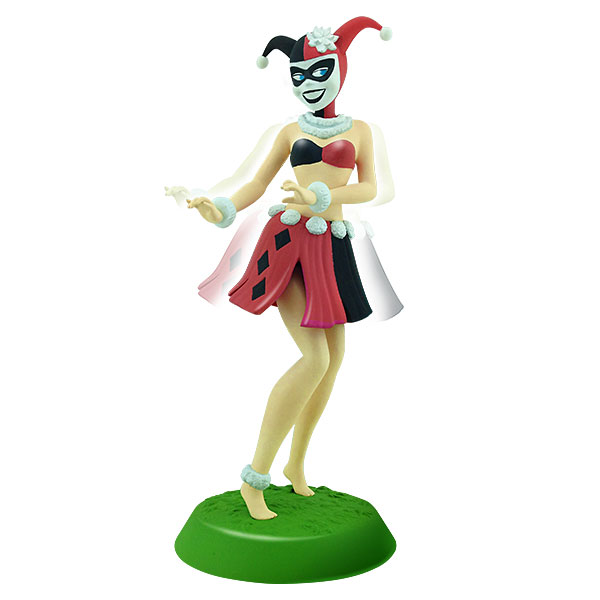 DC Harley Quinn Hula Girl Bobble Figure
