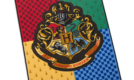 Harry Potter Hogwarts Rug