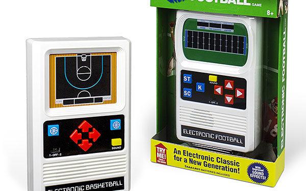 Mattel Classic Retro Sports Games