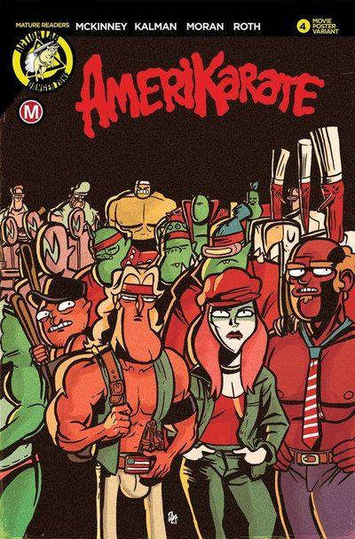 Amerikarate #4 (Cover B – Massa Karate Warriors)
