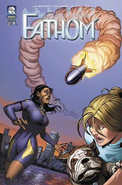 All New Fathom #5 (Cover A – Renna)