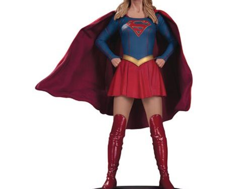 Supergirl TV Series Statue – Free Shipping