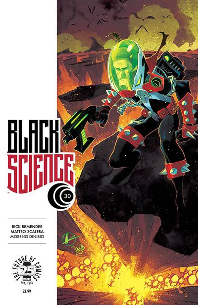 Black Science #30 (Cover B – Spawn Month Variant Cover Edition)
