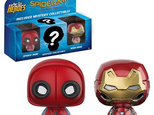 Spider-Man: Homecoming Pint Size Heroes Mini-Figure 3-Pack