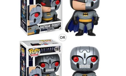 Batman: The Animated Series Robot Bat Pop! Vinyl Figure #193