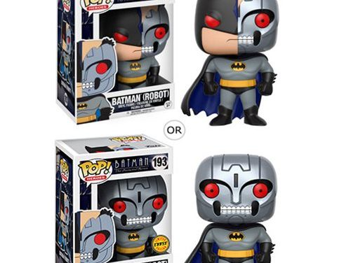 Batman: The Animated Series Robot Bat Pop! Vinyl Figure #193