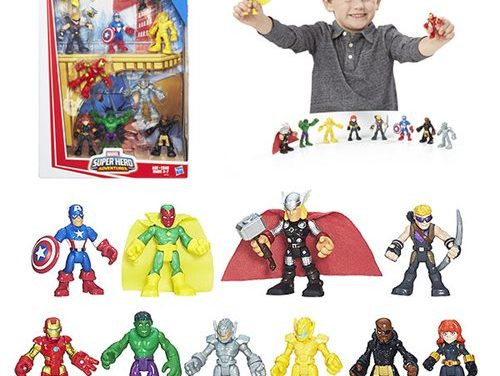 Marvel Super Hero Adventures Gift Set