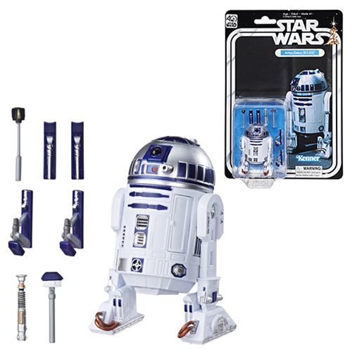 Star Wars The Black Series 40th Anniversary 6-Inch R2-D2 Action Figure