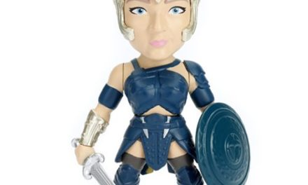 Wonder Woman Movie General Antiope 4-Inch Metals Die-Cast Action Figure
