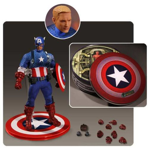 Captain America One:12 Collective Deluxe Version Action Figure – Free Shipping