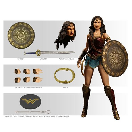 Wonder Woman Movie One:12 Collective Action Figure – Free Shipping