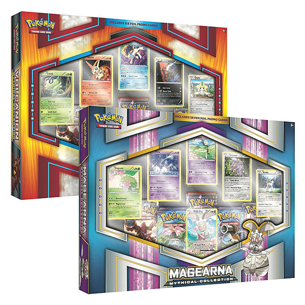 Pokémon TCG Mythical Volcanion & Magearna Box