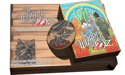 The Wizard of Oz Kansas Playing Cards Gift Set