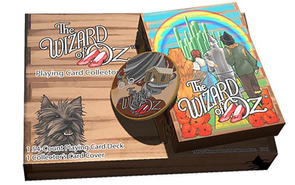 The Wizard of Oz Kansas Playing Cards Gift Set