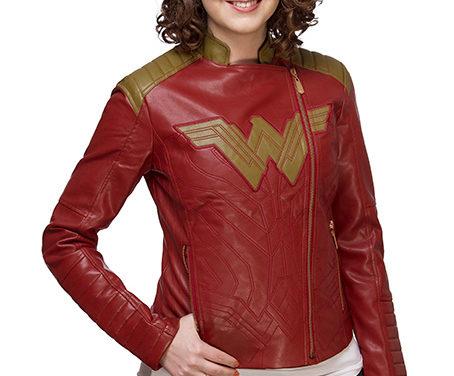 Wonder Woman Ladies' Moto Jacket