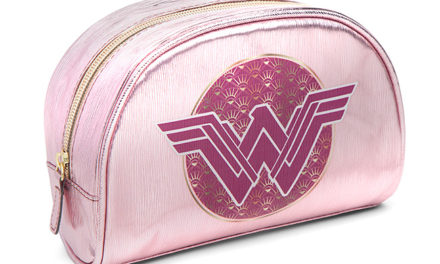 Wonder Woman Holographic Cosmetic Pouch