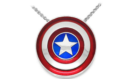 Captain America Shield Pendant