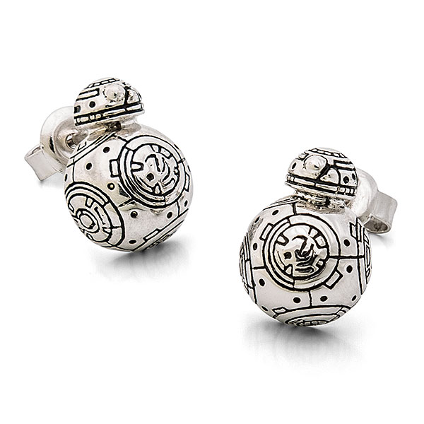 Star Wars BB-8 Sterling Stud Earrings