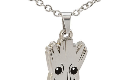 Guardians of the Galaxy Baby Groot Pendant Necklace