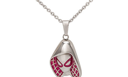Marvel Spider-Gwen Mask Pendant
