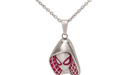 Marvel Spider-Gwen Mask Pendant