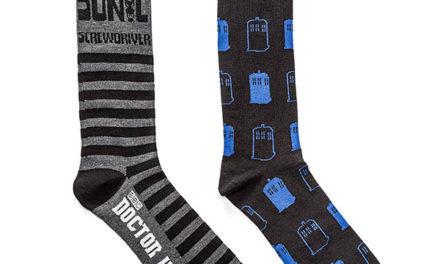 Doctor Who Sonic Screwdriver 2-pack Socks
