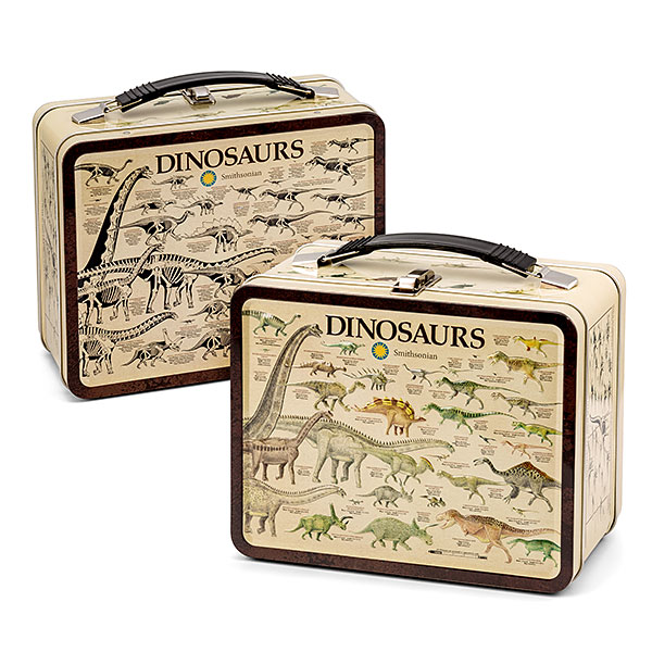 Smithsonian Dinosaurs Lunchbox Tin