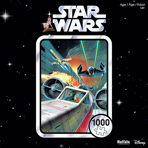 Star Wars 40th Anniversary Use the Force, Luke 1000pc Puzzle