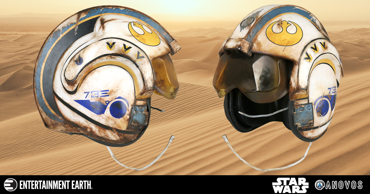 Will This Salvaged Helmet Prop Replica Make You Dream of X-Wing Action?