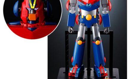 Cho Denji Robo Combattler V Combattler V DX Soul of Chogokin Action Figure – Free Shipping