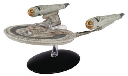 Star Trek Starships Special U.S.S. Franklin NX-326 Die-Cast Vehicle with Collector Magazine #12