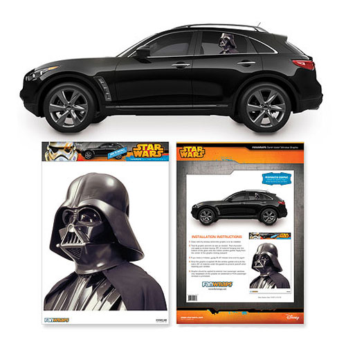 Star Wars Darth Vader Passenger Series Car Decal